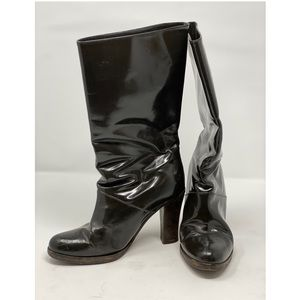 MARNI patent leather boots